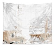 Gray Brown Abstract 12m3 Tapestry