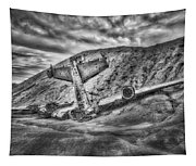 Grounded Plane Wreck Tapestry