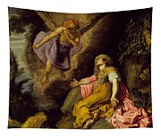 Hagar And The Angel Tapestry