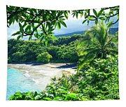 Hamoa Beach Hana Maui Hawaii Tapestry