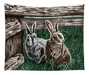 Hare Line  Tapestry