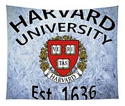 Harvard University Est. 1636 Tapestry