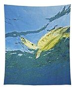 Hawaii, Green Sea Turtle Tapestry