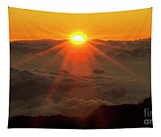 Hawaiian Sunrise Tapestry