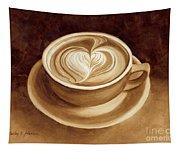 Heart Latte II Tapestry