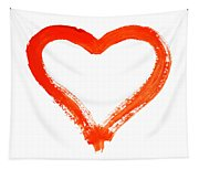 Heart - Symbol Of Love Tapestry