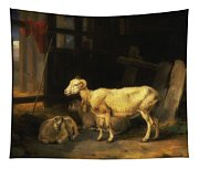 Heath Ewe And Lambs Tapestry