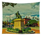 Henry Wadsworth Longfellow Monument - Portland, Maine Tapestry