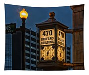 Historic Clock - Beaumont Texas Tapestry
