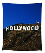 Hollywood Sign Los Angeles Ca Tapestry
