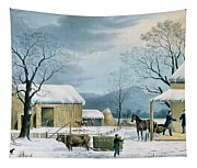 Home To Thanksgiving Tapestry