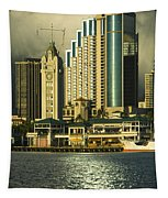 Honolulu Harbor Tapestry