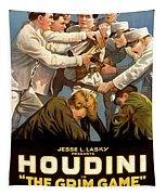 Houdini In The Grim Game 1919 Tapestry