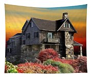 House On The Hill Tapestry