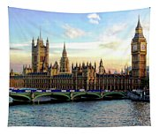 Houses Of Parliament Tapestry