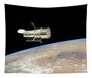 Hubble At Work Tapestry