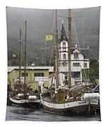Husavik Harbor Iceland 3660 Tapestry