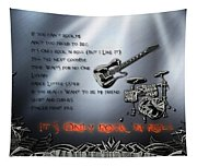 It's Only Rock 'n Roll Tapestry