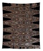 Juniper Tree Bark Abstract Tapestry