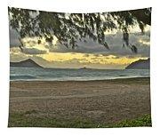 Kaohikapu Island Sunrise Tapestry