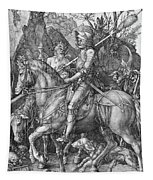 Knight Death And The Devil Tapestry