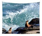 La Jolla Cove Tapestry