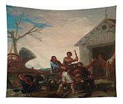La Rina En El Meson Del Gallo Tapestry