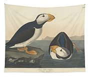 Large-billed Puffin Tapestry
