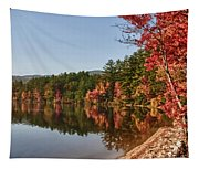 Late Afternoon On Lake Chocorua Tapestry