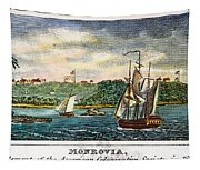 Liberia: Freed Slaves 1832 Tapestry
