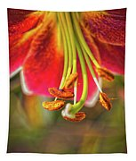 Lily Abstract Tapestry