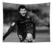 Lionel Messi 1 Tapestry
