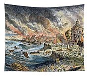Lisbon Earthquake, 1755 Tapestry