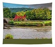 Llanrwst Bridge And Tea Room Tapestry