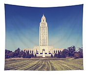 Louisiana State Capital Tapestry