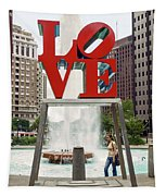 Love Sculpture Tapestry