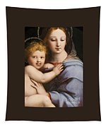 Madonna Of The Candelabra Tapestry