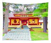 Mahayana Buddhist Temple 1 Tapestry