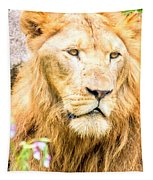 Majestic Lion Tapestry