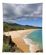 Makena Beach Tapestry