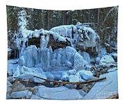 Maligne Canyon Frozen Tapestry