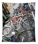 Many Bikes Tapestry