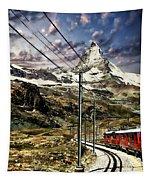 Matterhorn Panorama Tapestry