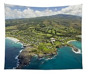 Maui Aerial Of Kapalua Tapestry