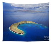 Maui, View Of Islands Tapestry