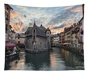 Medieval Jail In Annecy Tapestry