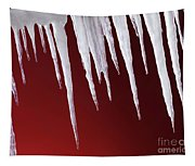 Melting Icicles Tapestry