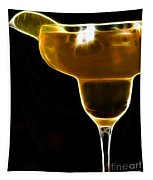 Mexico Gold . Lime Margarita Tapestry