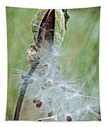 Milkweed Pod On Trail To North Beach Park In Ottawa County, Michigan Tapestry