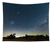 Milky Way And Countryside Tapestry
